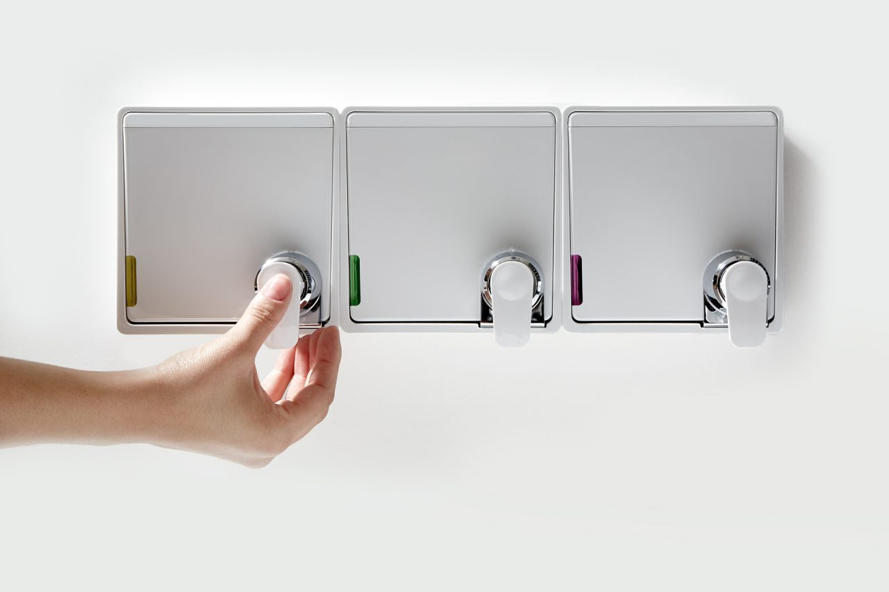 JRS Amenities Mosaic Dispensers