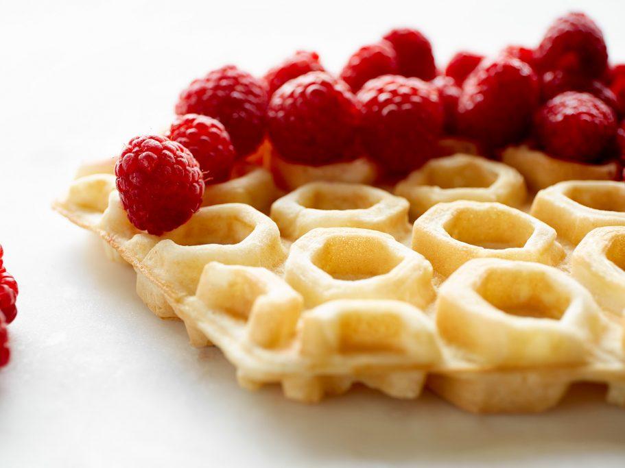 Viva Grills Waffle Rasberries